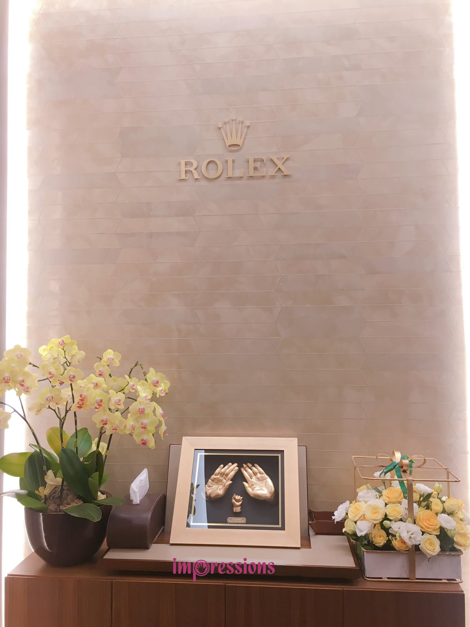 Rolex and Cartie Boutique Events in Hanoi
